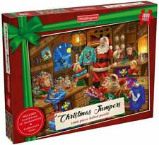 Waddingtons Puzzle - Christmas Jumpers 1000 Piece Jigsaw Puzzle 2019 Gift