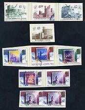 Lot of 49 stamps, Uk, 1988 Scott 1201-1238 Nine Complete Sets