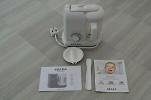 BEABA Babycook Solo Baby Food Maker 4 in 1 Baby Food Processor - WHITE