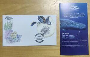 2020 Malaysia Marines Life Hidupan Marin Iconik Penyu Turtle Stamp MS FDC