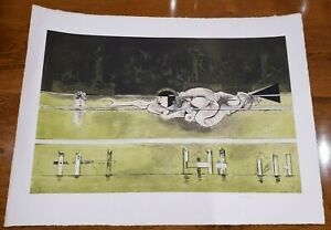 GRAHAM SUTHERLAND ETCHING / AQUATINT, THE SIRENS - SIGNED FROM THE EDITION OF 75