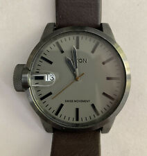 Nixon Mens Watch The Chronicle Magnified