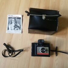 Polaroid Colorpack 80 - Vintage Instant Camera With Instructions and Carry Case