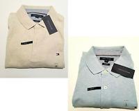 Tommy Hilfiger Polo Shirt Mens Slim Fit Mesh Short Sleeve Top Flag Logo Stretch