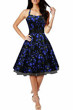 Cotton Special Occasion Floral Sleeveless Dresses for Women