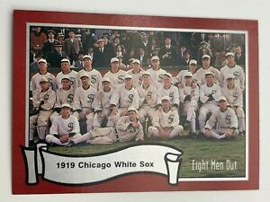 Baseball Cards💎1988💎Eight Men Out - Chicago White Sox - The Team🌟4🌟