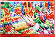 New 500 Piece Jigsaw Puzzle (Colorful Childrens Mexican Toys Instruments)