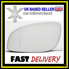Left Passenger Side Wing Mirror Glass Wide Angle VAUXHALL VECTRA C MK3 2002-2008