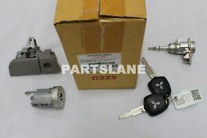 Mitsubishi L200 Pajero Nativa OEM Genuine Lock Cylinder & Key SET 6370B331HA