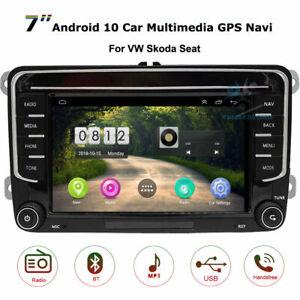 Android 10.0 Head Unit Radio GPS SAT NAVI for VW Passat Golf Polo T5 Transporter