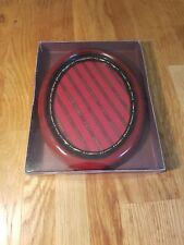 Wooden Vintage Style circular Photo Picture Frame 5inch x 7inch New