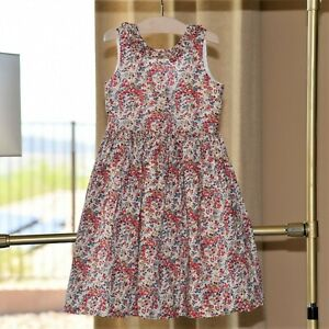 Papo D Anjo Girls Floral Summer Dress Size 8 EEUC
