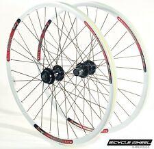 "Sun MTX29 26"" Wheel set Formula 6-Bolt Disc QR Hubs Black Spokes 8,9,10 spd"