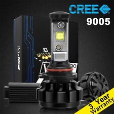 9005 CREE LED Headlight Kit High/Low Beam 60W 7200LM 6000K White Bulb High Power