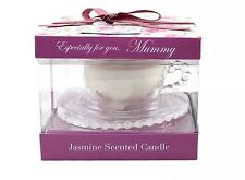 VINTAGE LANE MUMMY TEACUP WITH JASMINE SCENTED CANDLE