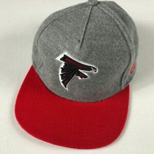 Atlanta Falcons Strapback Hat Fleece Feel NFL Football New Era Acrylic Cap Mens