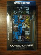 DYSE ONE COMIC-GRAFF IPod Touch 5th generation snap case and earbuds
