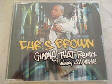 Chris Brown feat. Lil' Wayne - Gimme That Remix - Slimcase PROMO CD (2 Tracks)