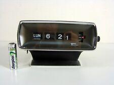 Vintage Copal Caslon ? Fashion No 121 Flip Clock 1970's Tested and Works Japan