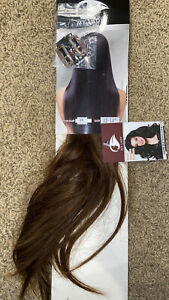 """New My Lady Human Hair Extensions Color #4 12""""-14"""" Brown Clip"""