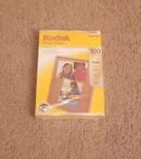 Kodak Photo Paper Gloss Sealed 4x6 44lb 6mil Instant Dry (100 sheet pack)