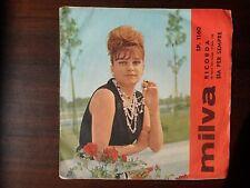 MILVA, Ricorda / Sia per sempre, 1963, Cetra, Disco Vinile 45 giri