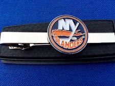 NY ISLANDERS NHL HOCKEY TIE CLIP NHL LIGO CLASP EMBLEM GIFT IDEA EMBLEM LOGO