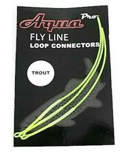 AquaPro, Fly Fishing, Braided Leader Loops, Fly Fishing, Line Loop Connectors