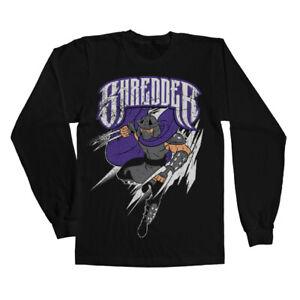 Licensed Teenage Mutant Ninja Turtles - The Shredder Long Sleeve T-Shirt S-XXL