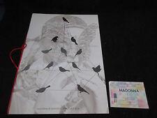 Madonna Re-Invention 2004 World Tour Book Concert Program with Dutch Ticket Stub