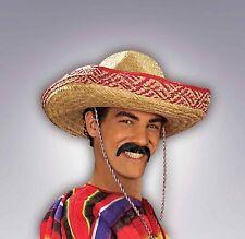 Pancho Villa Moustache Mexican Cinco de Mayo Fake Mustache 100 % Human Hair