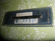 Colibri Clip Lighter, MIB, With Instructions. Sparks Well.