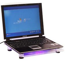 "14.1"" to 15.4"" Laptop PC USB LED Light Powerful 1 Big Fan Cooling Pad Cooler"