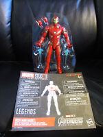 """Marvel Legends 6"""" MCU Studios First Ten Years Light Up Iron Man Avengers IW War"""
