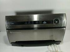 Foodsaver Vacuum Sealer Stainless Steel Finish Model V3840 Tested