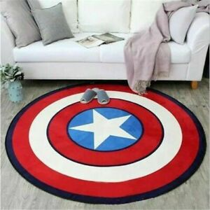 Hot~The Avengers Captain America Rugs Living Room Carpet Bedroom Floor Mats01