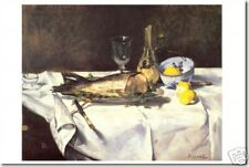 The Salmon  by Eduard Manet - Poster
