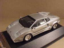 Premium X 1/43 Resina 1971 Lamborghini Countach 25th Anniversary, Plata Pr0187