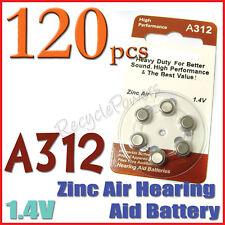 120 A312 PR41 7002ZD 1.4V Zinc Air Hearing Aid Battery