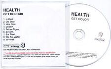 HEALTH Get Colour UK 9-trk promo test CD