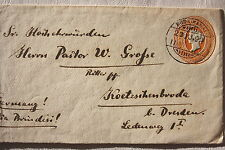 14007 Ganzsache Brief Indien KODAIKANAL 1904  India postage Cover 2 ANNAS 6 PIES