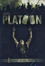NEW DVD //OLIVER STONE // Platoon  // CHARLIE SHEEN, TOM BERENGER, WILLEM DAFOE
