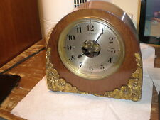 Antique-Art Deco-French-Bulle-Battery Clock-Ca.1930-To Restore-#N928