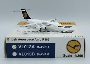 JET X VL013A - Lufthansa BAe Avro RJ85 D-AVRH- 1/200 Model