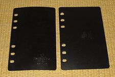 COMPACT Size | Black PAGE SAVERS/Lifter FRANKLIN COVEY Sheet Protector Boards