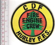 Hot Shot Wildland Fire Crew California CDF Hurley Fire Station Fire Engine Crew