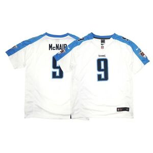 Steve McNair Nike Tennessee Titans Nike Game Day Away White Youth Jersey