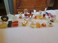 24 Lot Perfume Mini Bottles Chanel,  Nuit de noel, Givenchy,  first and more