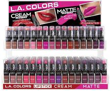 16 Pcs L.A. LA Color Girl Matte Lip Gloss, Matte Finish Pigment  -FULL SET-