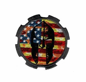Spartan USA Flag Tactical Milspec Hook Patch